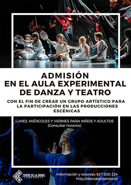 Aula Experimental de Danza y Teatro en Arrecife