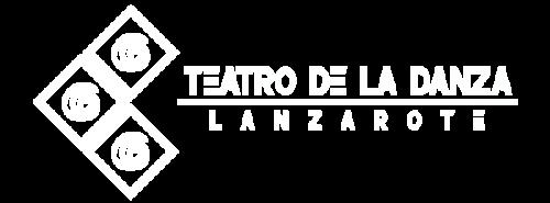 Teatro de la Danza Lanzarote. Logotipo blanco.