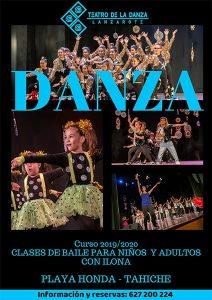 Curso 19/20 con el Teatro de la Danza Lanzarote